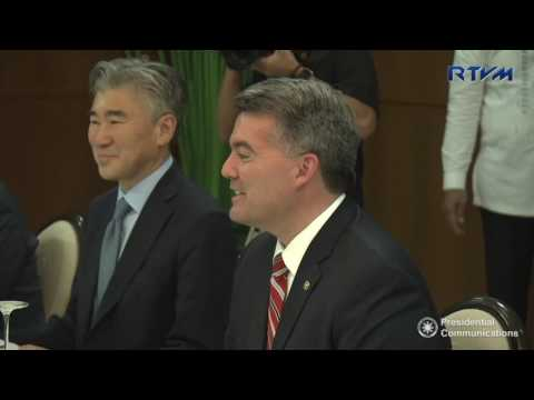 Courtesy Call of United States of America (USA) Senator Cory Gardner 5/31/2017
