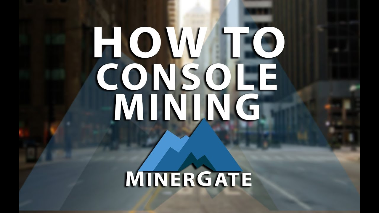 How to console mining in MinerGate CPU Mining