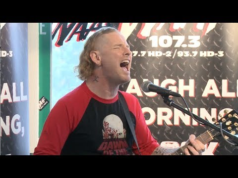 "Corey Taylor Performs ""Song #3"" Live At WAAF - YouTube"
