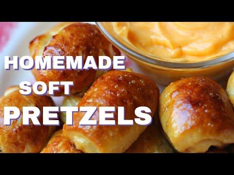 Baked Soft Pretzels Pellet Smoker Rec Tec