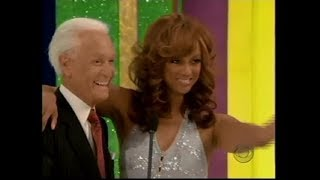 The Price is Right:  February 17, 2006  (Tyra Banks as a Barker's Beauty!)