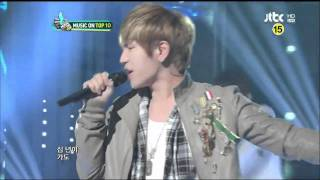 20120229 K.Will - I Need You [JTBC] 뮤직온탑