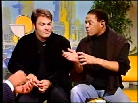 GREGOR PRÄCHT AND AL JARREAU FIRST TV INTERVIEW SMILE ZDF 1996