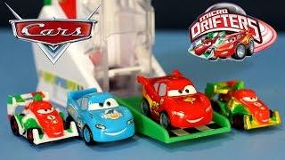 Тачки Маквин. Игрушки из мультика Тачки. Disney Pixar Cars Micro Drifters Launcher(, 2014-10-20T10:05:38.000Z)