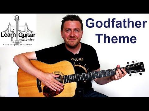 The Godfather Theme - Fingerstyle Guitar Lesson - Drue James - Part 1