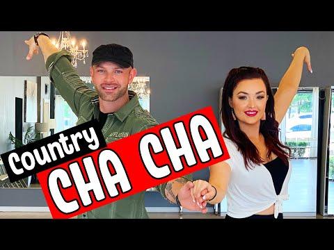 COUNTRY CHA CHA BASIC STEPS | How to Country Cha Cha Dance