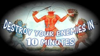 DESTROY YOUR ENEMIES IN 10 MINUTES  - Chhinnamasta Mantra