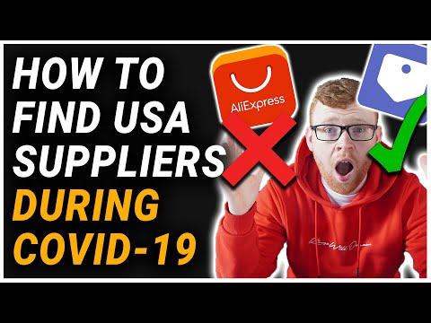 HOW TO FIND USA SUPPLIERS DURING CORONA VIRUS! | HOW TO FIND US DROPSHIP SUPPLIERS