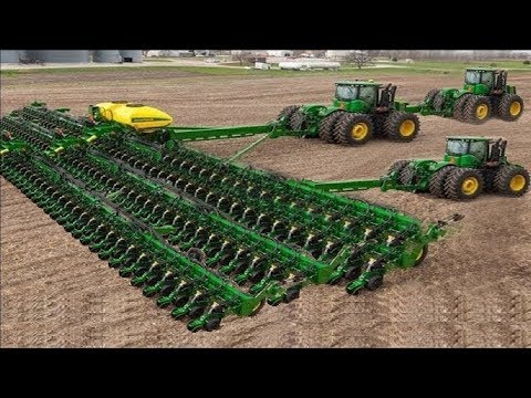 Ultimate Extreme Modern Agriculture Heavy Equipment Mega Machines