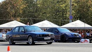Dragracing: BMW E34 Turbo vs BMW M5 E60