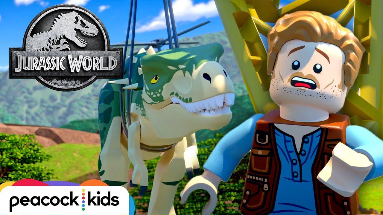 Rock A Bye T Rex Lego Jurassic World Legend Of Isla Nublar Youtube