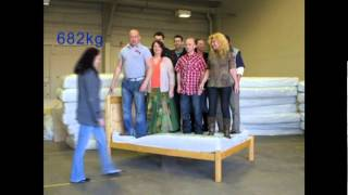 Worlds Strongest Bed