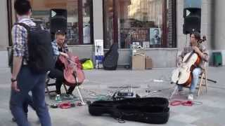 Michael Jackson Smooth Criminal 2 Cello Guys Live