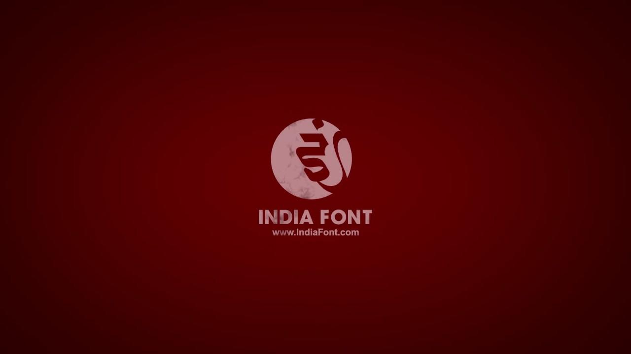 Indiafont V1 Crack