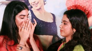 Khushi Kapoor cries inconsolably as she hugs Janhvi Kapoor | Dhadak Trailer