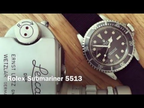 ICON: Rolex Submariner 5513