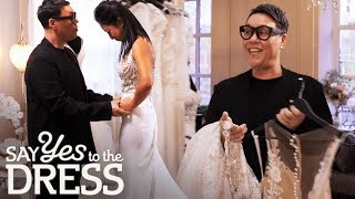 Auntie Gok's Best Moments! | Say Yes To The Dress Lancashire