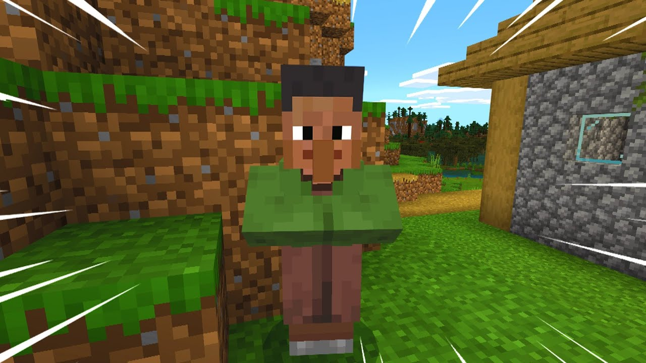 Can we make this Minecraft villager popular..?