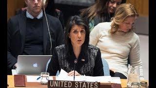 BREAKING NEWS: UN Ambassador Nikki Haley Gives URGENT Speech at the General Assembly