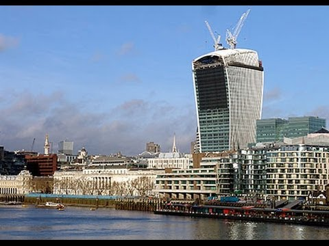 "20 Fenchurch St, London   ""The Walkie Talkie Building"" - 720p"