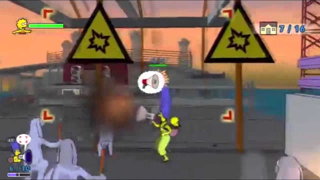 Download Les Simpson le jeu   Episode 16 en français   Itchy and Scratchy Show PS3
