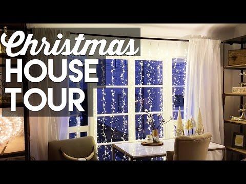 christmas-decorating-small-apartment-tour!---christmas-&-holiday-decorating-2016!