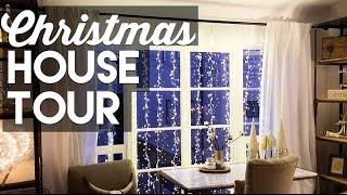 CHRISTMAS DECORATING SMALL APARTMENT TOUR!  - Christmas & Holiday Decorating 2016!