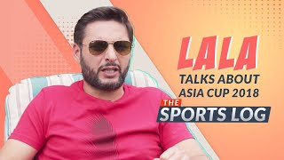 SPORTSLOG: Shahid Afridi first exclusive guest talking about Asia Cup