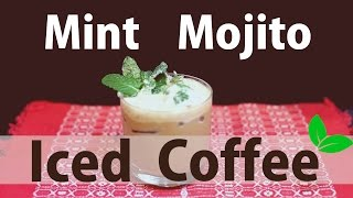 How to make a Mint Mojito Iced Coffee!
