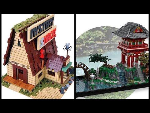 lego-ideas:-gravity-falls-mystery-shack-and-japanese-tea-garden---lego-news-(watch-it-fully)