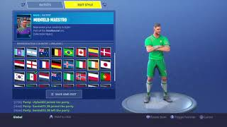 New world cup skins fortnite review