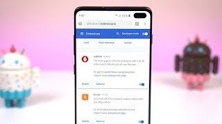 Chrome Extensions On Any Android