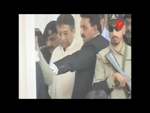 Musharraf manages to leave, despite arrest orders by Islamabad High Court