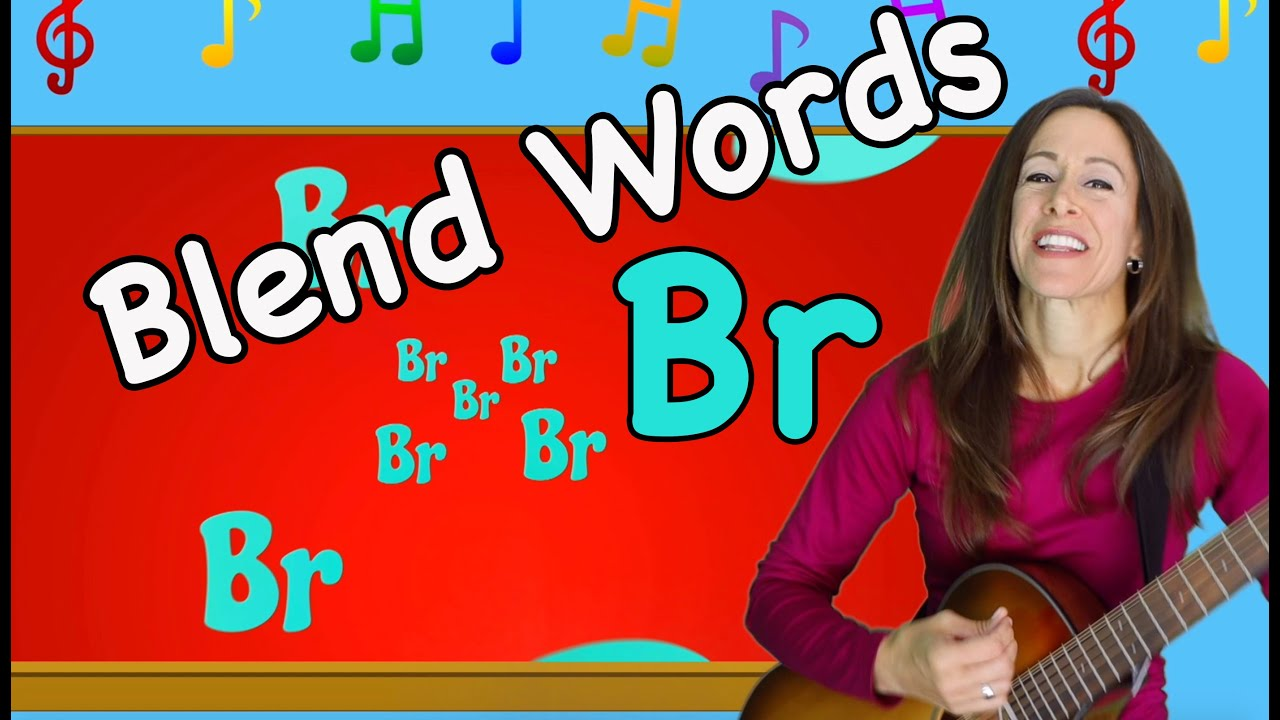Blends Songs | Letter Blends BR | Consonant Song for Children by Patty Shukla