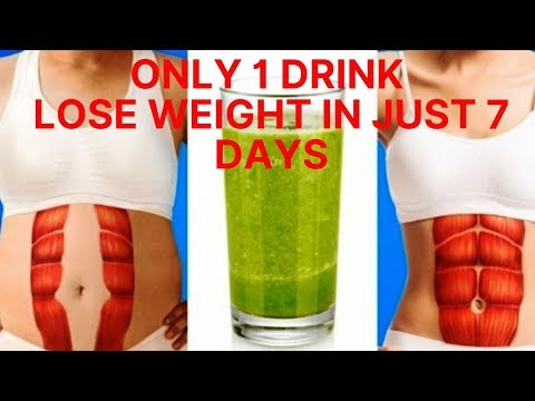 reduce-belly-fat-and-lose-weight-in-7-days-(only-one-drink)