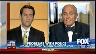 Problem With Police - Negative Rhetoric Causing Danger To Cops - Fox & Friends