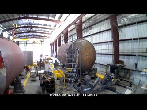 Time lapse Tank Fabrication