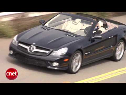 CAR TECH:  Mercedes Benz SL550 review Video