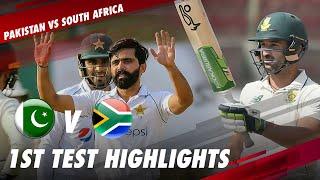 Pakistan vs South Africa | Full Match Highlights | 1st Test 2021 | PCB | ME2E