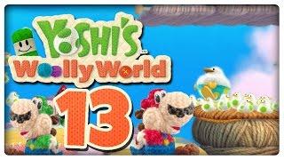 Let's Play YOSHI'S WOOLLY WORLD Part 13: Die neue Fähigkeit der Huffin' Puffins