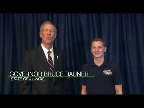 Illinois Governor and Fuel Up to Play 60 State Ambassador Congratulate Illinois Schools