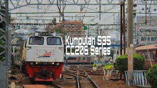Kompilasi Klakson Lokomotif CC206 Series