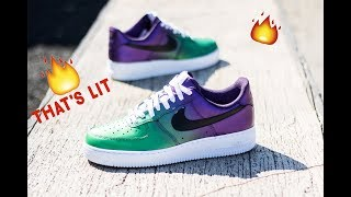 How To: Custom Shoes Air force ones | The Joker | Angelus