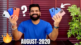 TG Smartphone Round-up | Seedhi Baat | August 2020🔥🔥🔥