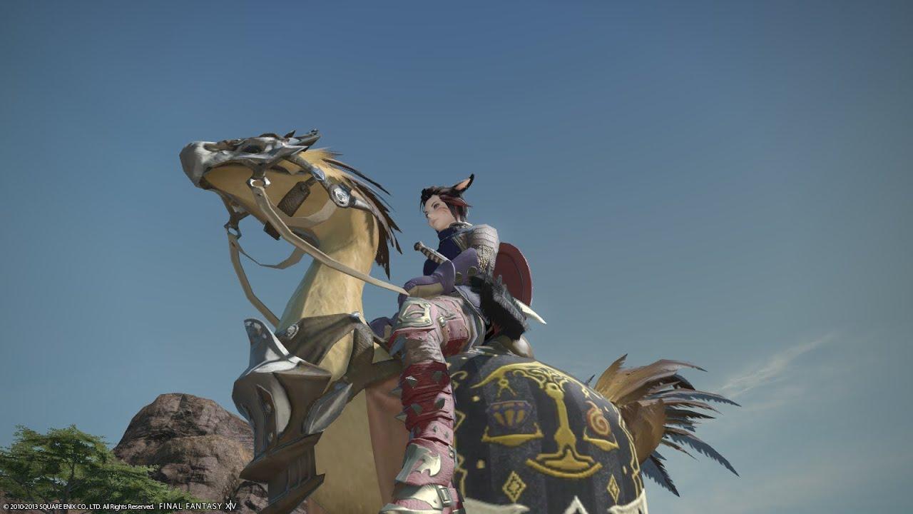 Final Fantasy XIV Online A Realm Reborn Chocobo Cutscene YouTube