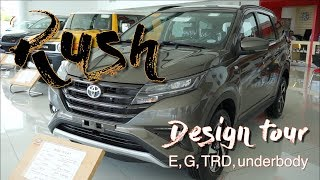 Toyota RUSH 2018 Philippines Design Tour and Underbody