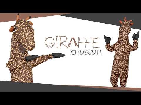 GIRAFFE CHUB SUIT | INFLATABLE COSTUME