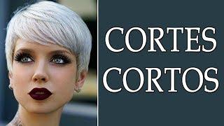 CORTES CORTOS 2018 CORTES DE CABELLO CORTO 2018 MODA PARA MUJER TV