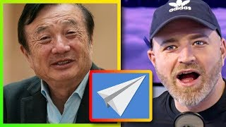 Huawei CEO says he can only afford a paper airplane