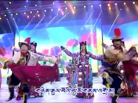魅力华锐-Tibetan dance of Dparis, Amdo